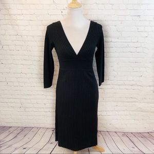 Adrienne Vittadini silk/cotton dress Small